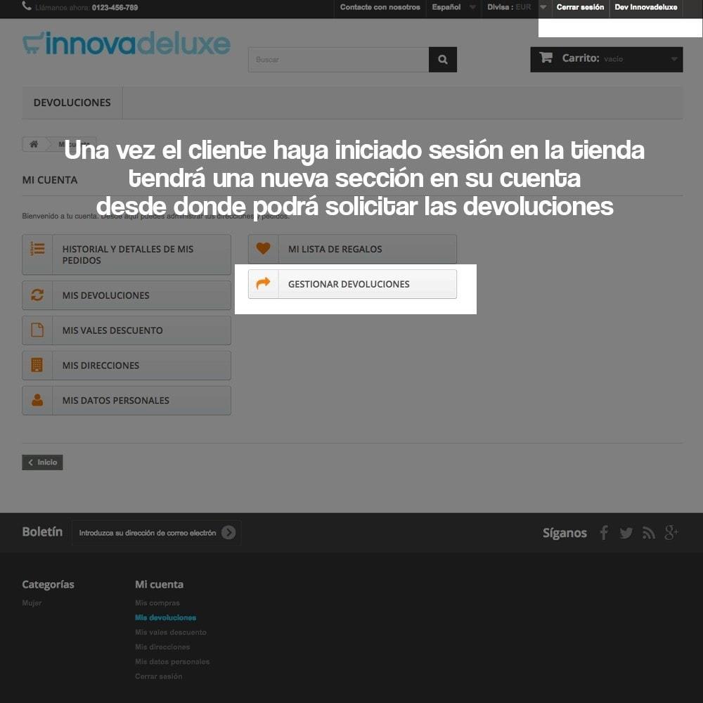 module - Marco Legal (Ley Europea) - Devolución de productos (Ley de defensa del consumidor) - 10