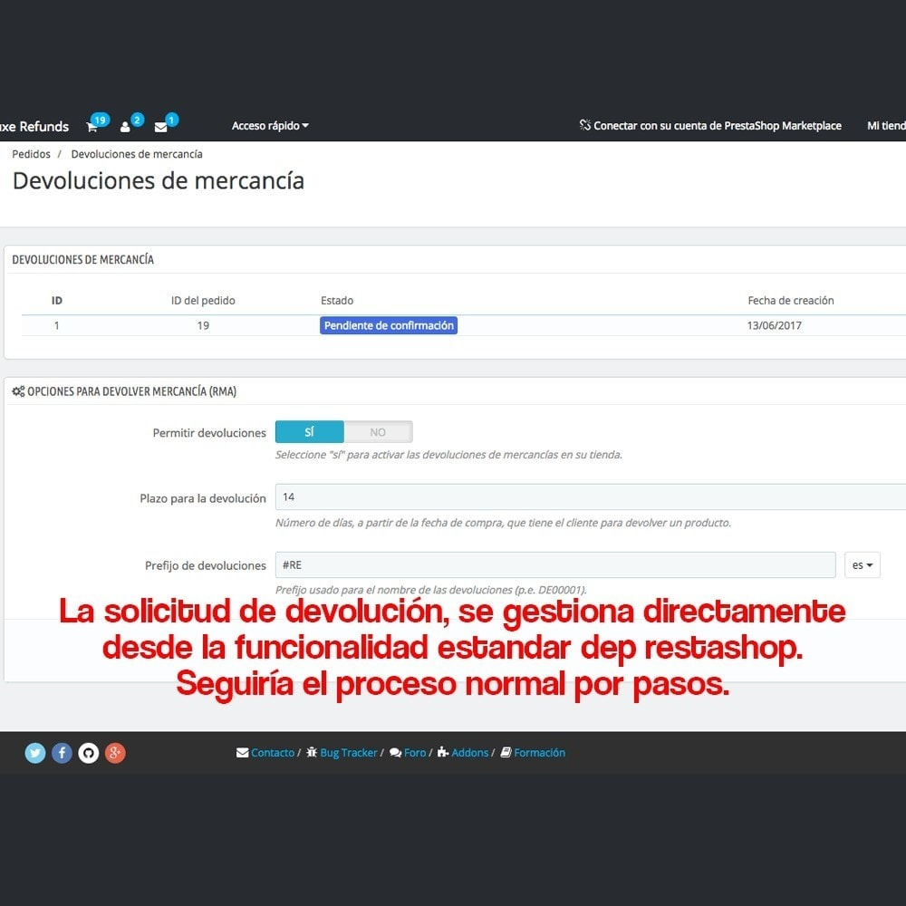 module - Marco Legal (Ley Europea) - Devolución de productos (Ley de defensa del consumidor) - 14