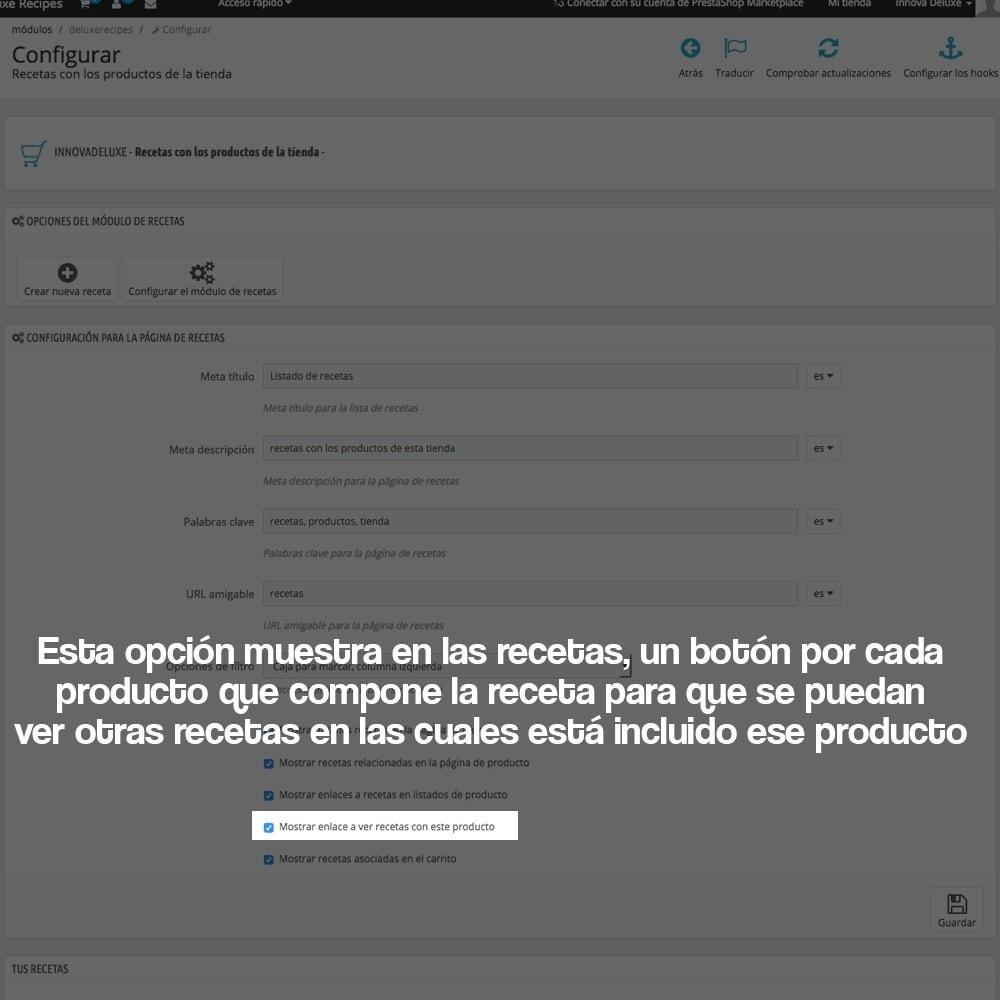 module - Blog, Foro y Noticias - Gestor de recetas con los productos de la tienda - 14