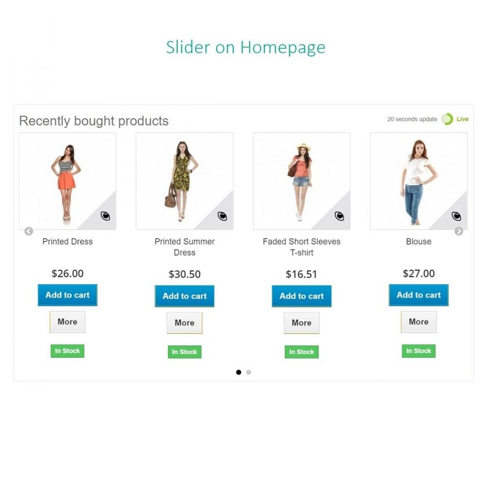 module - Управление заказами - Последние заказы - Недавно купленные продукты с Ajax - 6