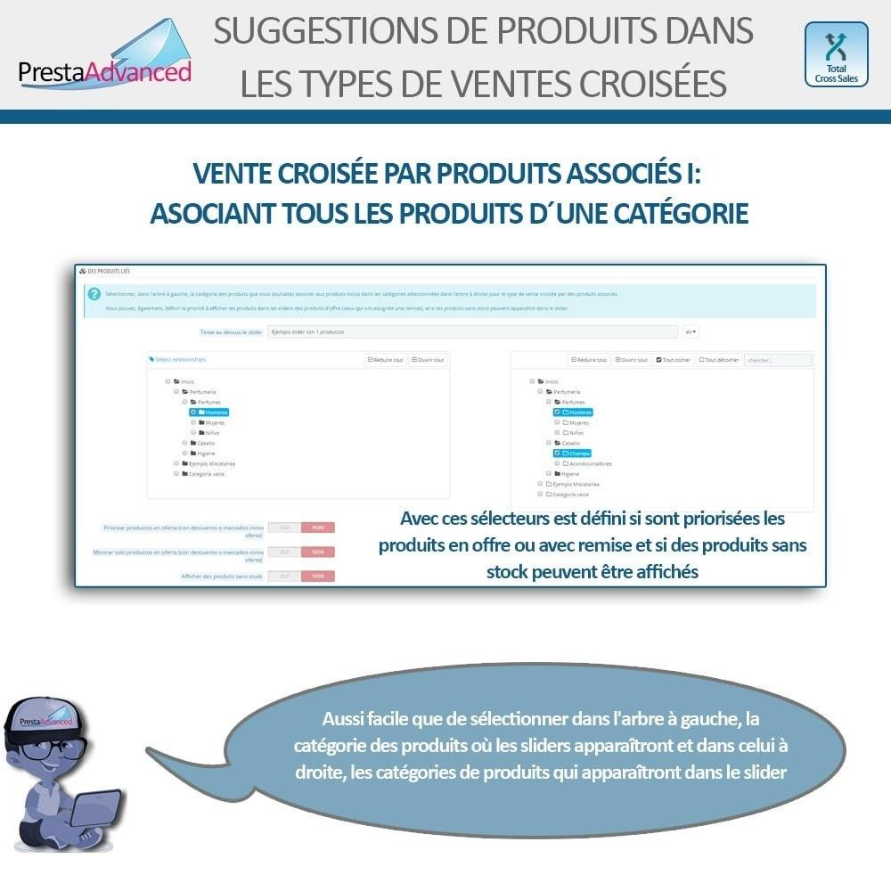 module - Ventes croisées & Packs de produits - Total Cross Sales - Configuration des ventes croisées - 10