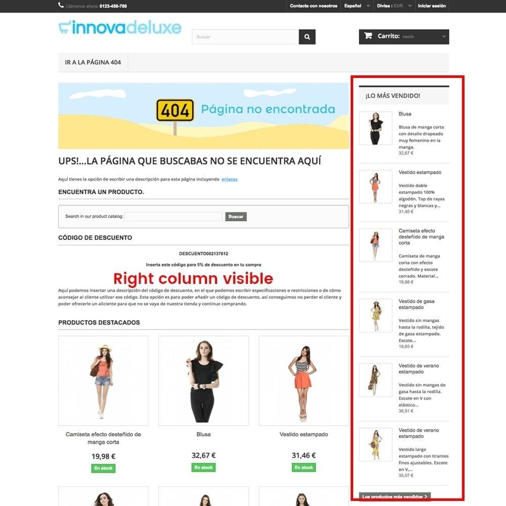 module - Gestão de URL & Redirecionamento - Customization of the 404 error page - 13