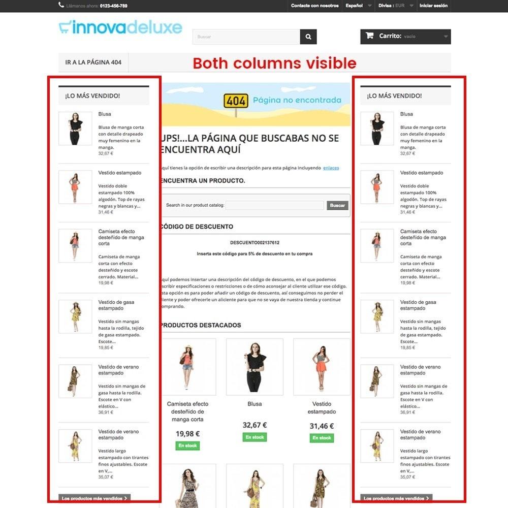 module - Gestão de URL & Redirecionamento - Customization of the 404 error page - 14
