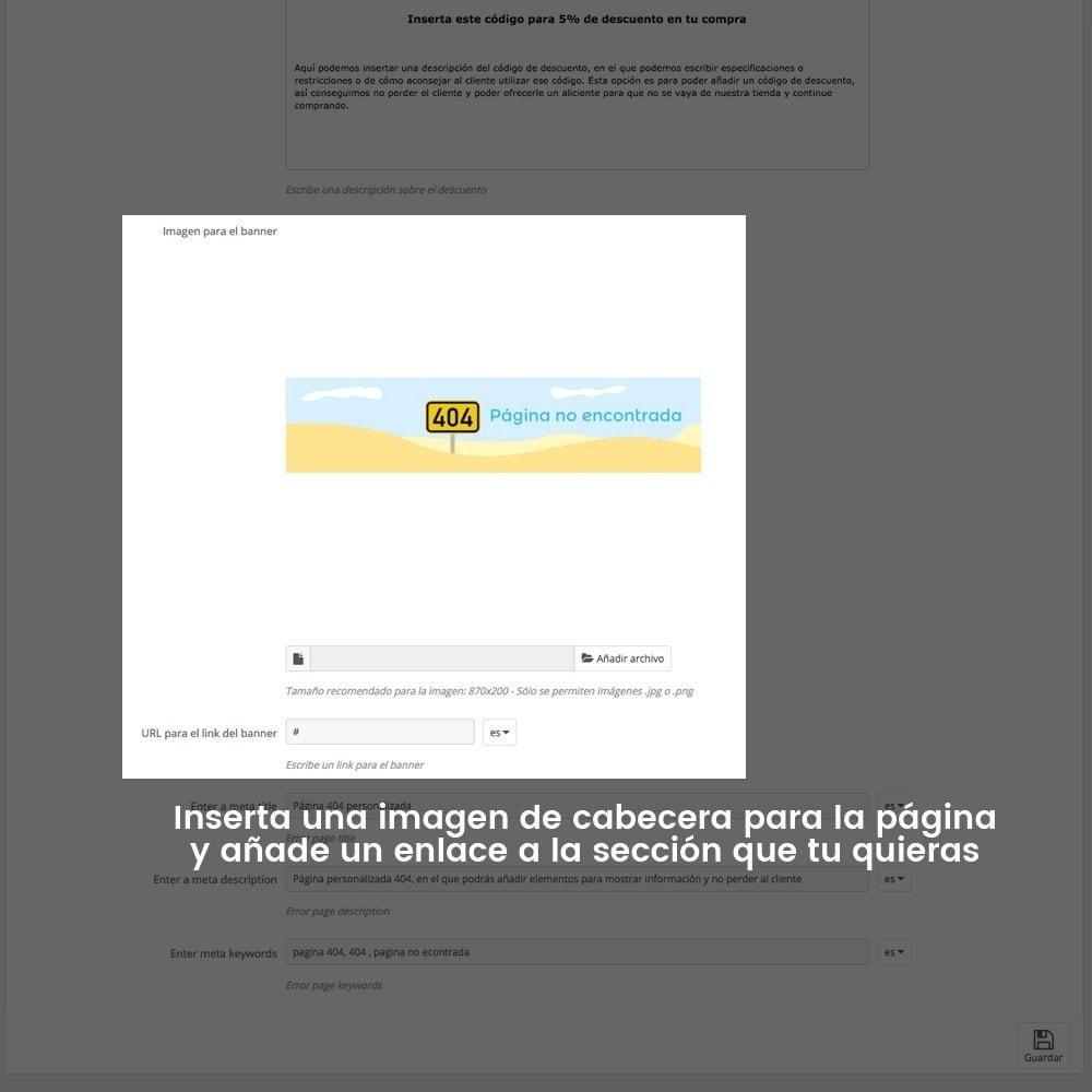 module - URL y Redirecciones - Personalización de la página de error 404 - 24