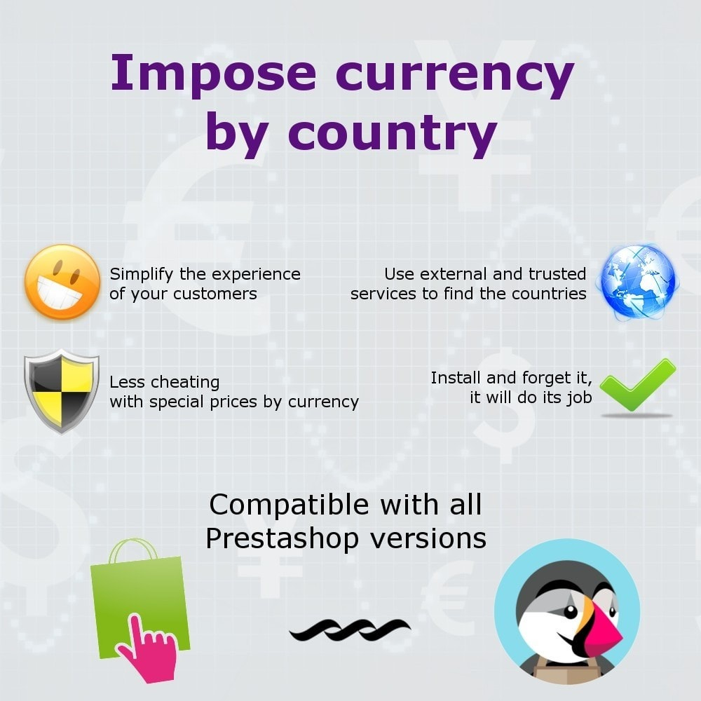 module - Internationalisierung & Lokalisierung - Currency by country - 1
