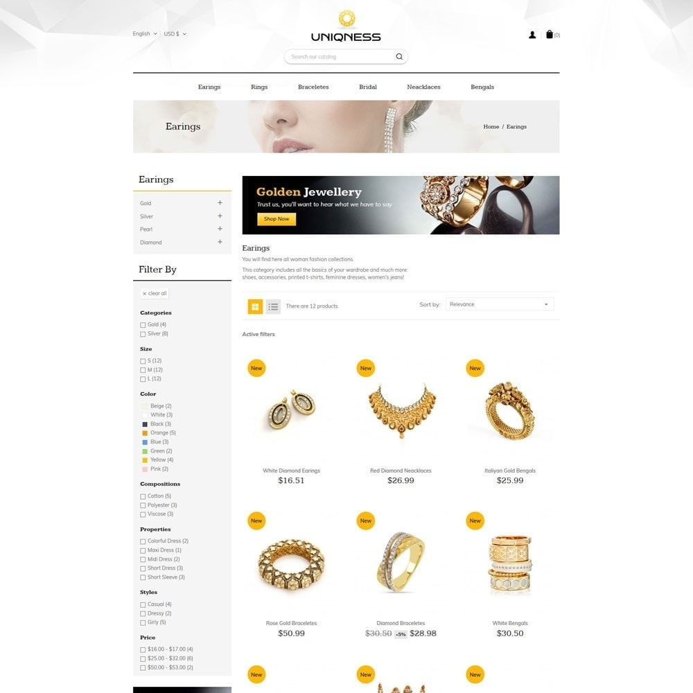 theme - Jewelry & Accessories - Jewelry  Store - 3