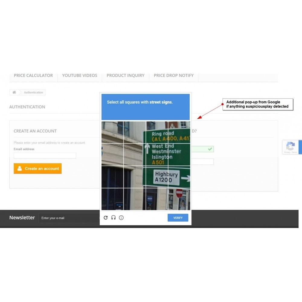 module - Veiligheid & Toegang - Recaptcha Anywhere - 6