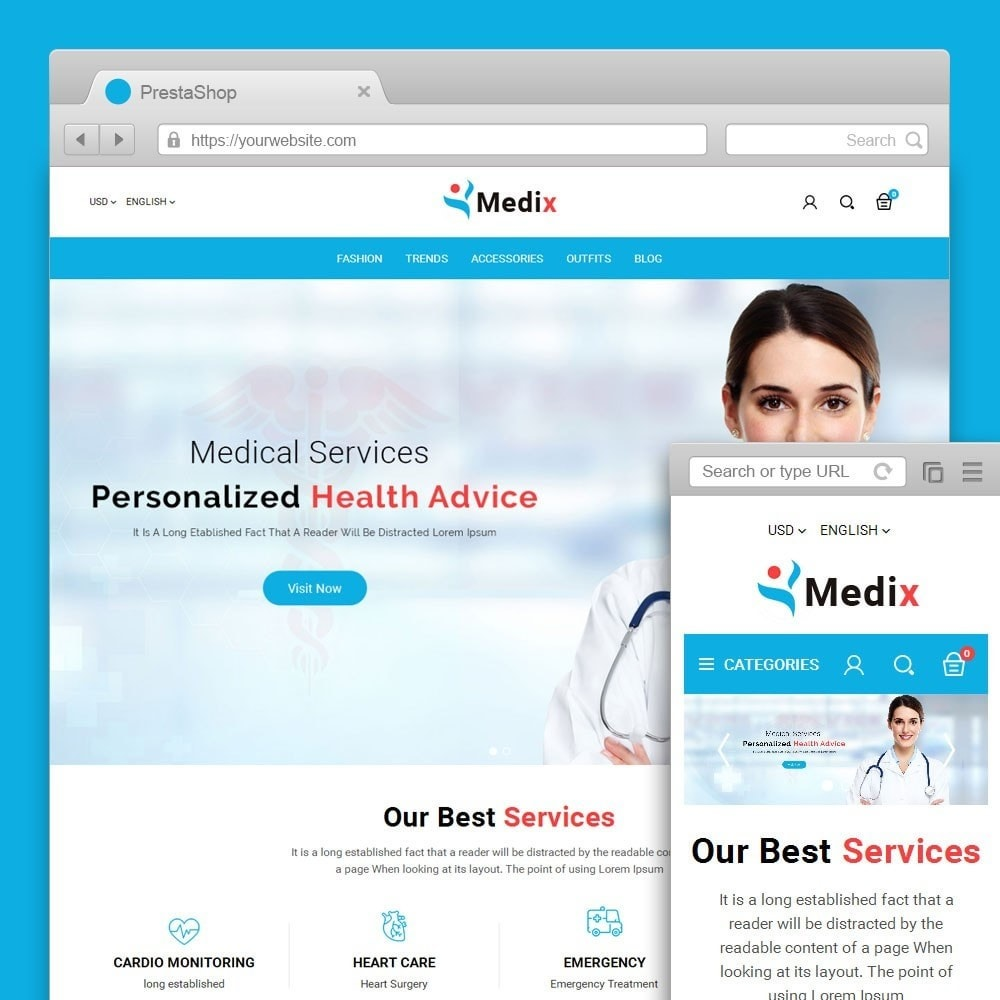 theme - Health & Beauty - Medix Medical Store - 1