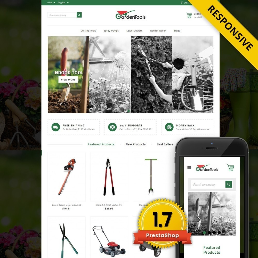 theme - Maison & Jardin - GardenTools - Tools Store - 1
