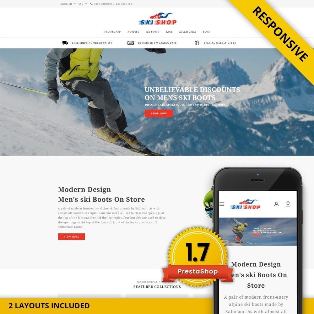 theme - Спорт и Путешествия - Skishop - Online Ski Store - 1