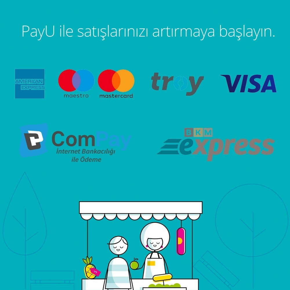 module - Payment by Card or Wallet - PayU Turkey Payment - 2