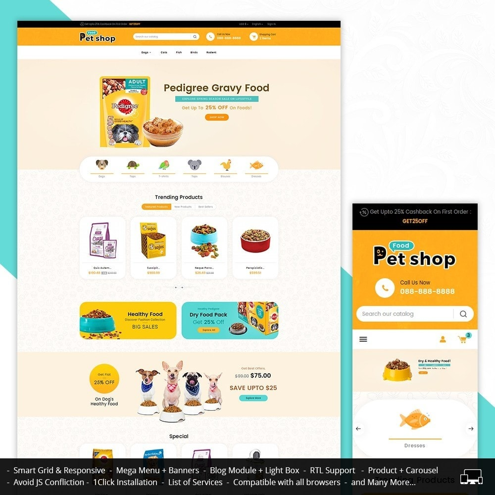 theme - Animali - Pet Food - 1