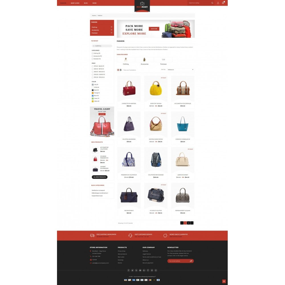 theme - Moda & Calzature - MonMart Bag Store - 3