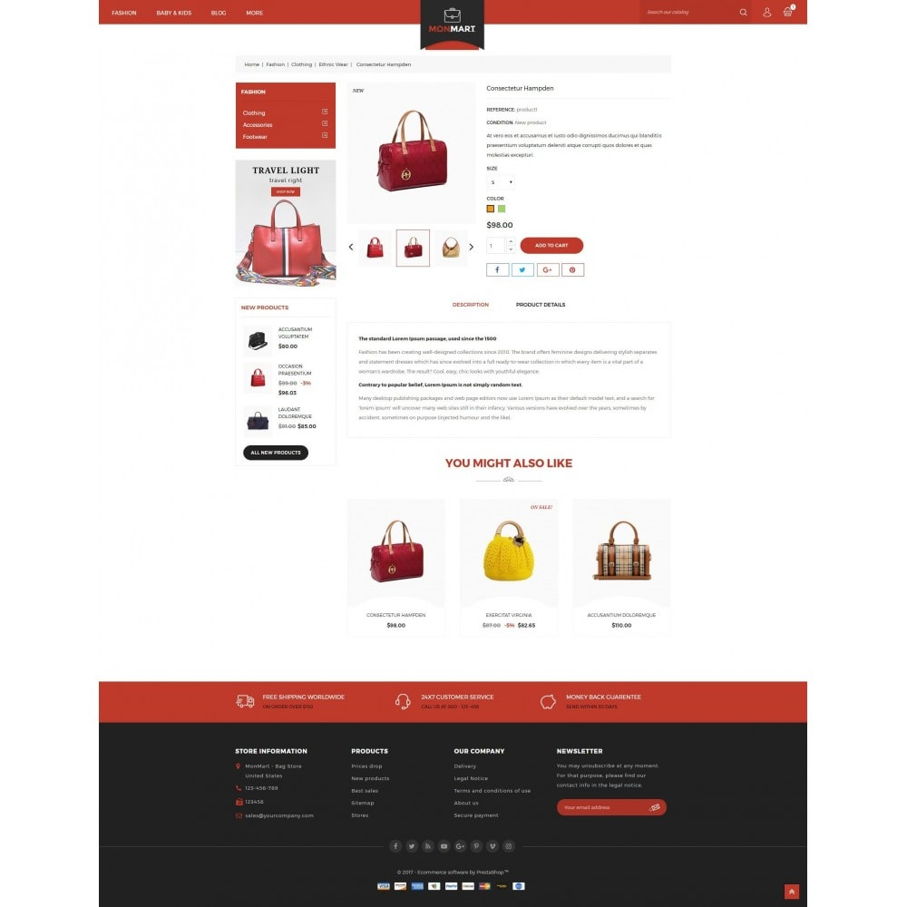 theme - Fashion & Shoes - MonMart Bag Store - 5