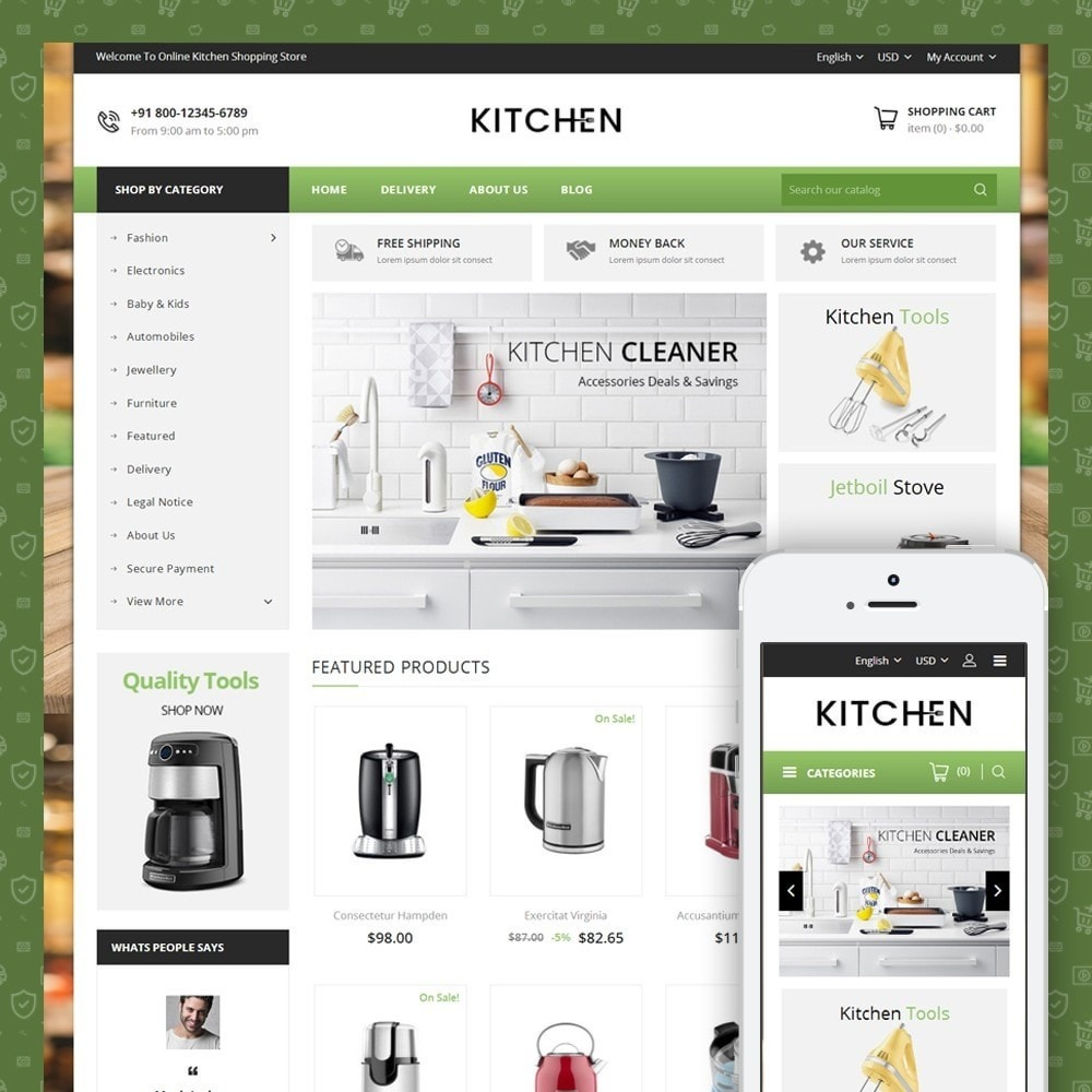 Online Kitchen Store