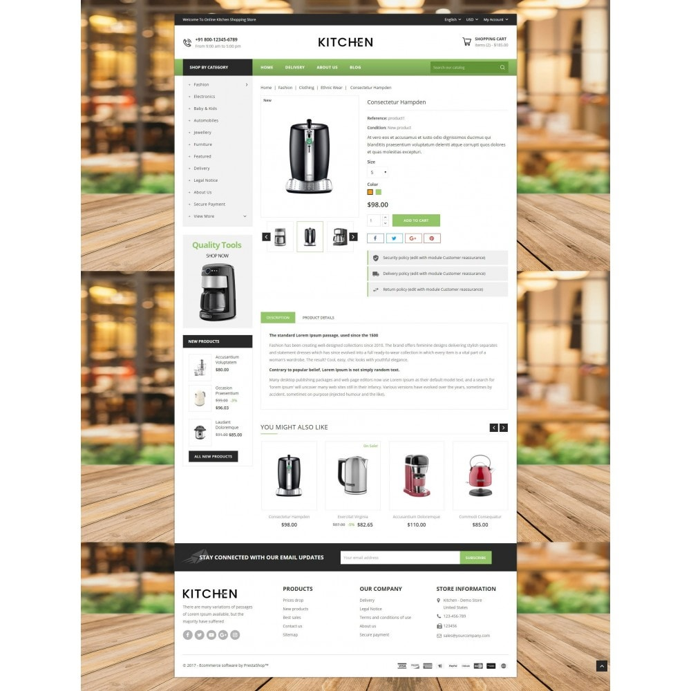 theme - Дом и сад - Online Kitchen Store - 5