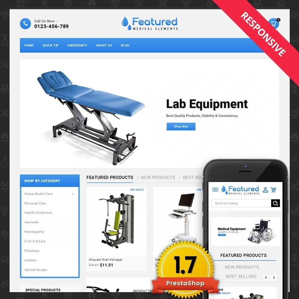 theme - Health & Beauty - Featured store - 1