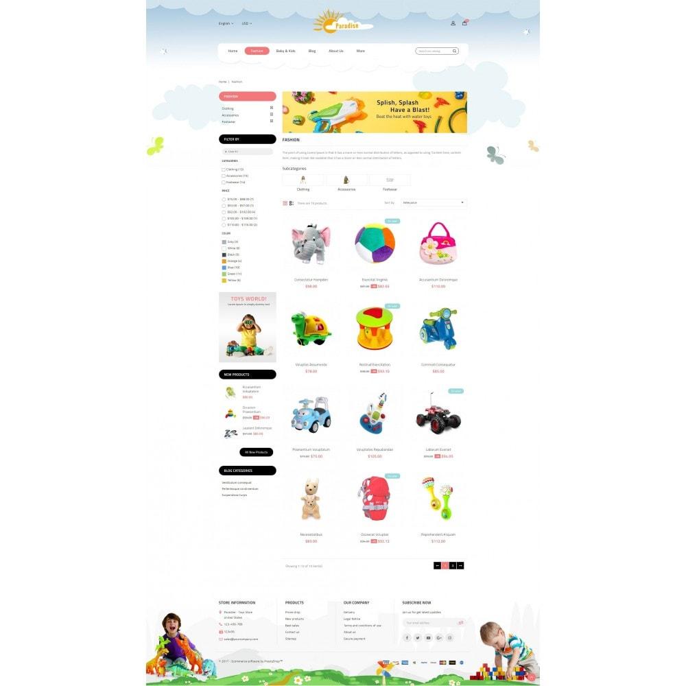 theme - Crianças & Brinquedos - Paradise Toys Store - 3
