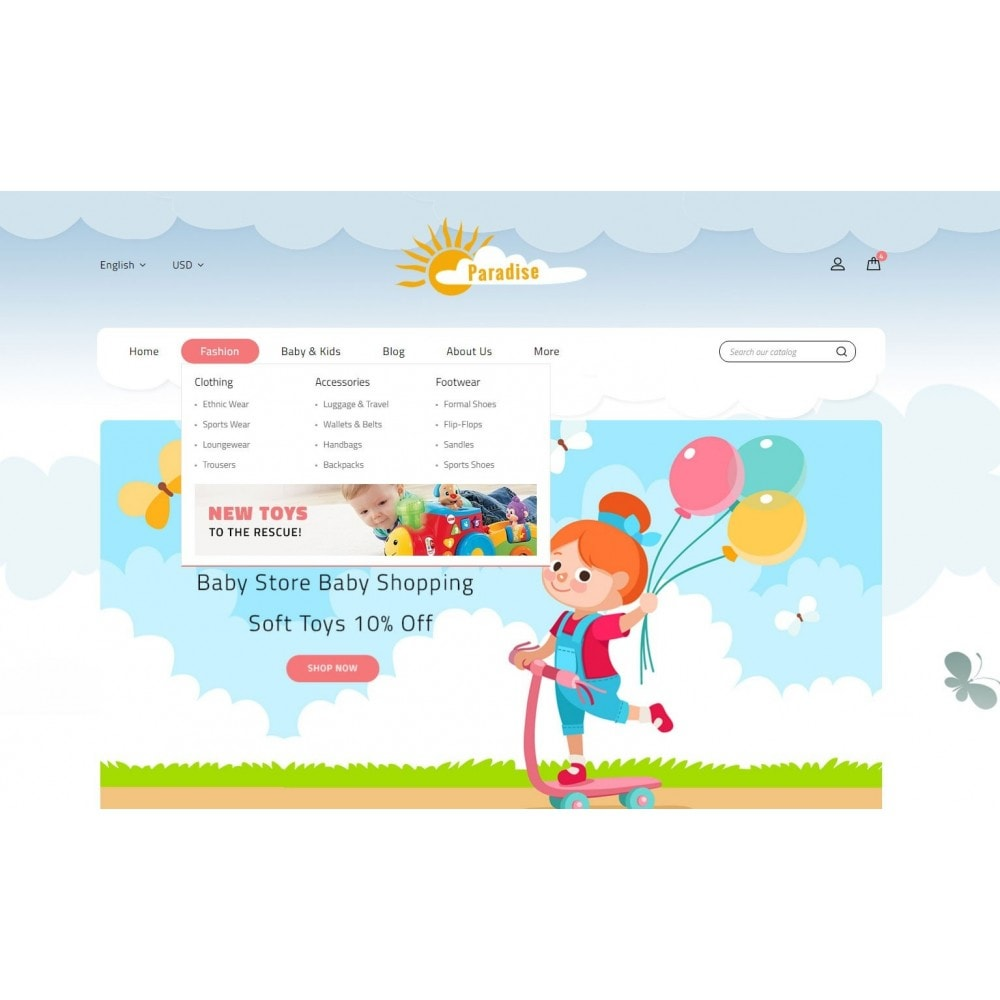 theme - Niños y Juguetes - Paradise Toys Store - 6