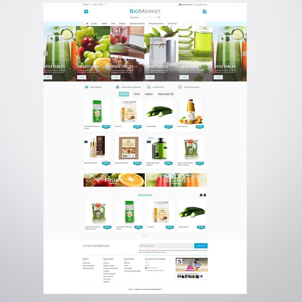 theme - Health & Beauty - Bio Market - 3