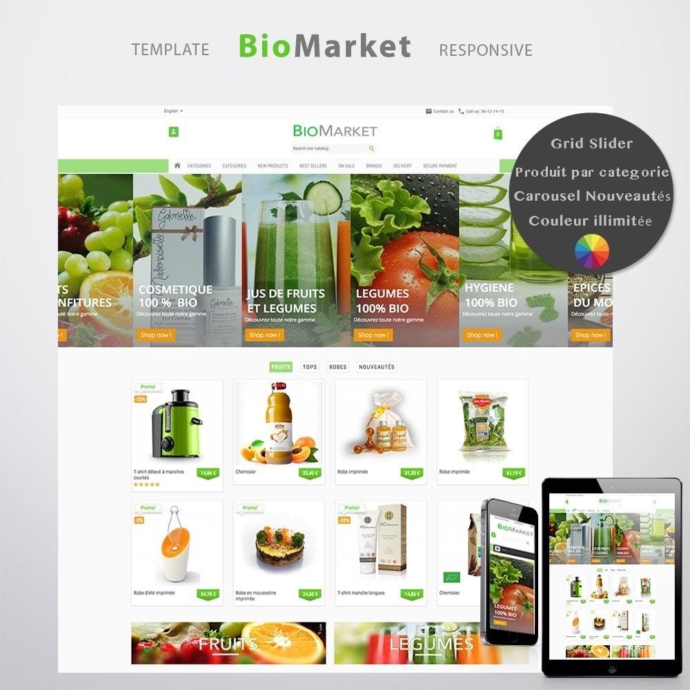 theme - Santé & Beauté - Bio Market - 2