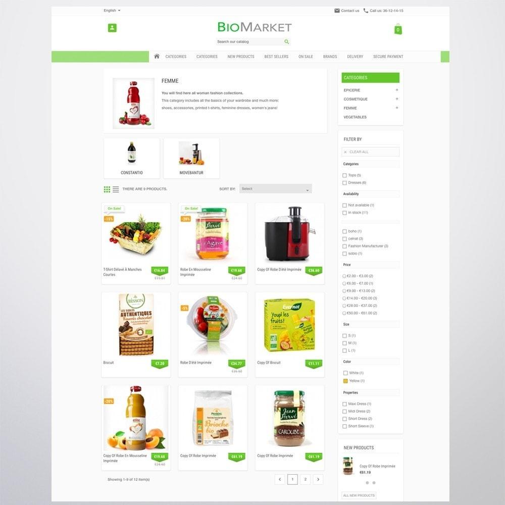 theme - Santé & Beauté - Bio Market - 10
