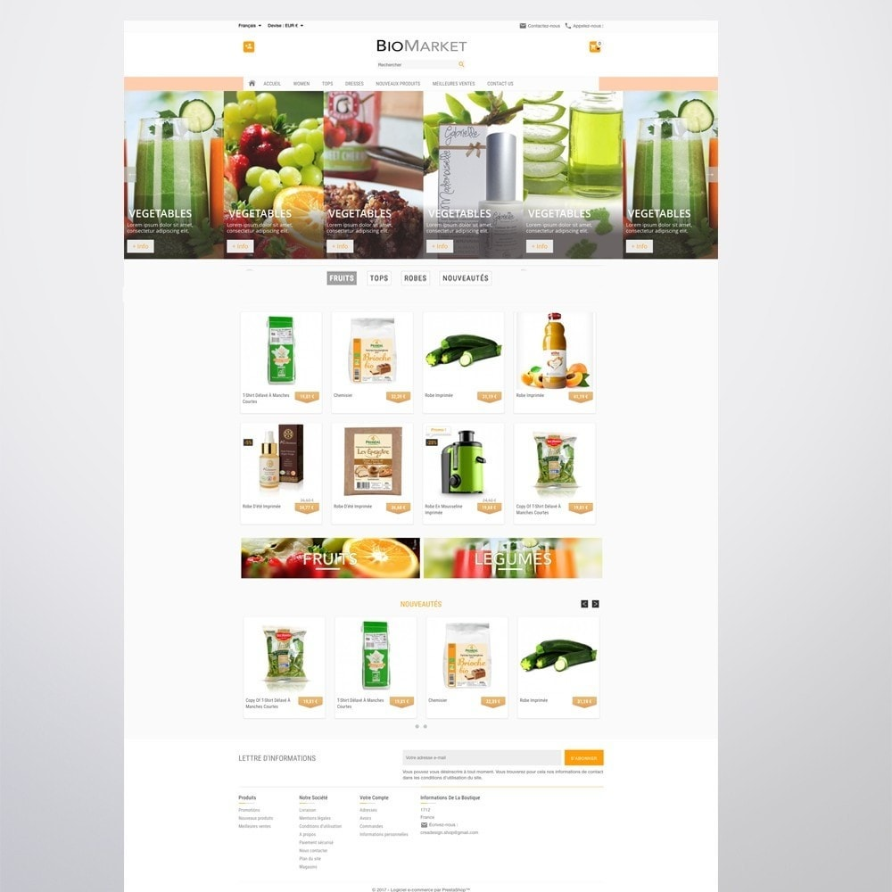 theme - Health & Beauty - Bio Market - 11
