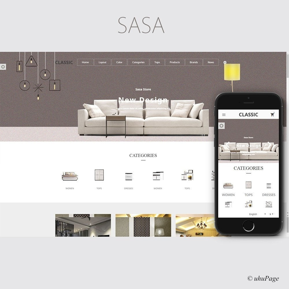 theme - Maison & Jardin - Sasa Decoration Store - 1