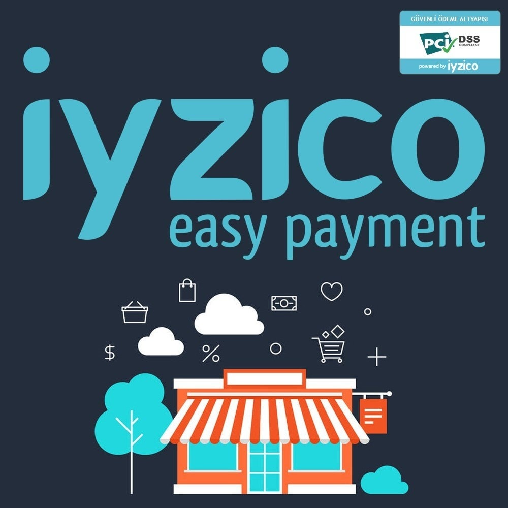 module - Creditcardbetaling of Walletbetaling - Iyzico Easy Payment - 1