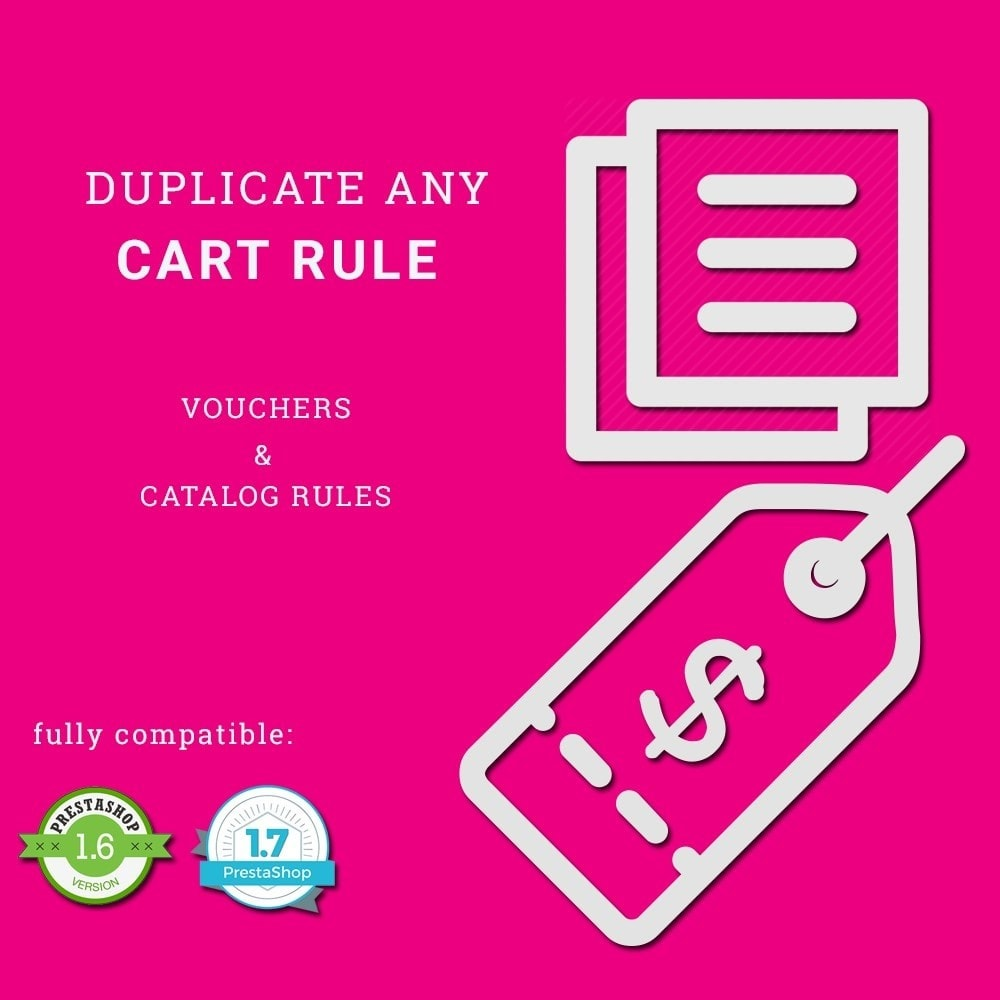 module - Promotions & Gifts - Duplicate Cart Rule - 1