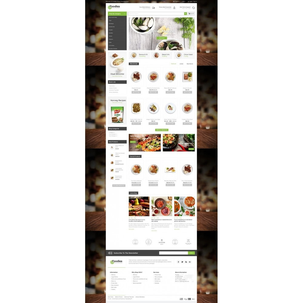 theme - Lebensmittel & Restaurants - Foodies - Restaurant Store - 2