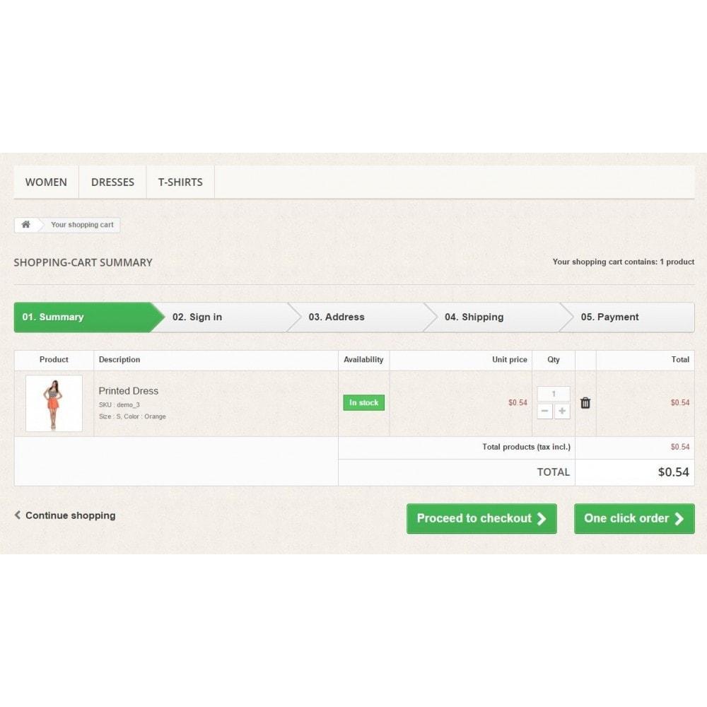 module - Процесс заказа - Заказ в один клик (быстрый заказ) - 4