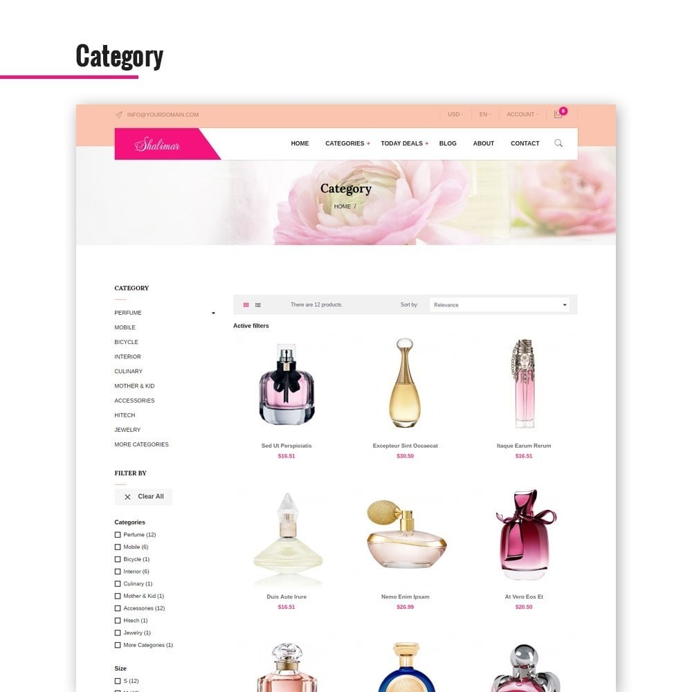 theme - Biżuteria & Akcesoria - Leo Shalimar - 2