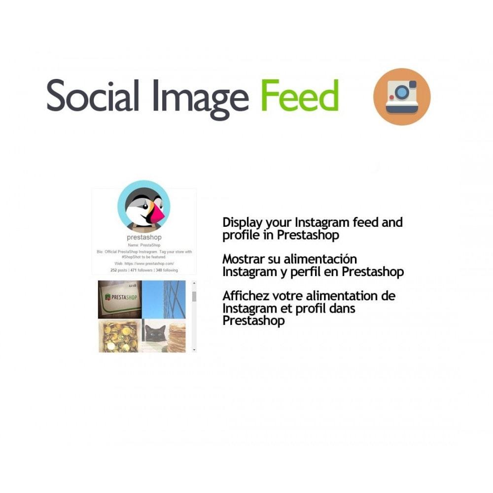 module - Widgety serwisów społecznościowych - Social Image Feed - 1