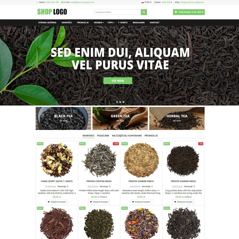 ATS05 Herbata, zioła i leki