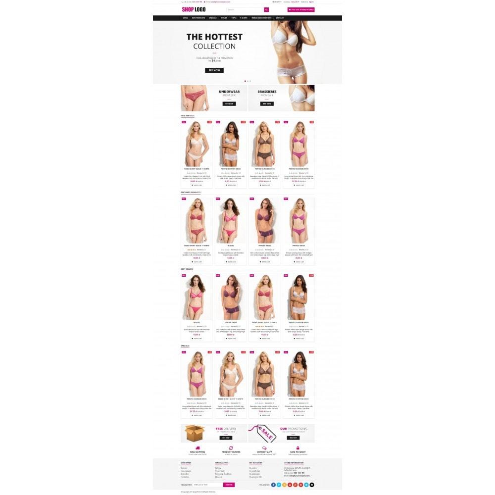 theme - Lingerie & Erwachsene - ATS06 Lingerie store - 2