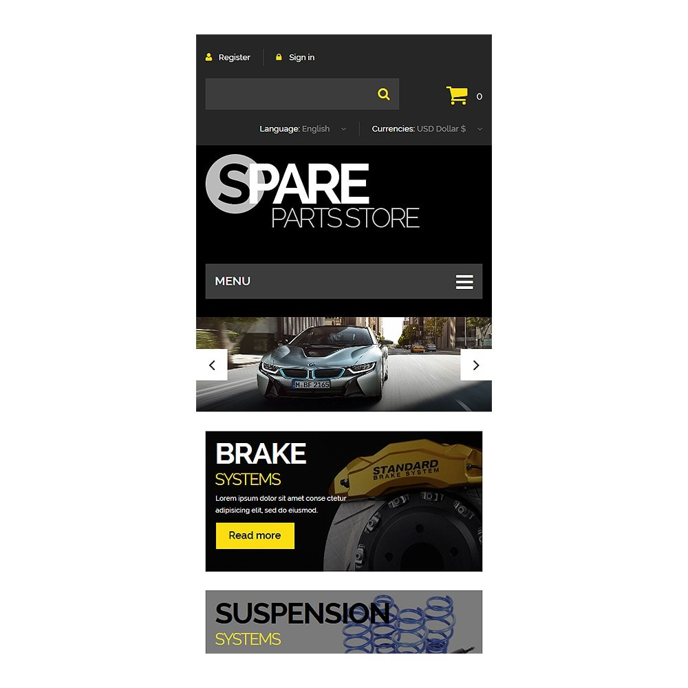 theme - Coches y Motos - Spare Parts Store - 8