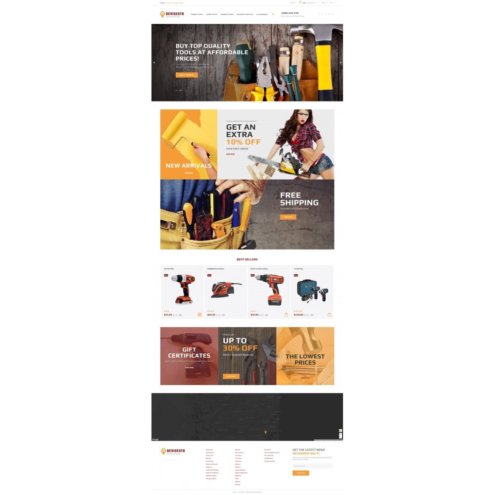 theme - Casa & Jardins - Devicesto - Tools and Supplies Store - 4