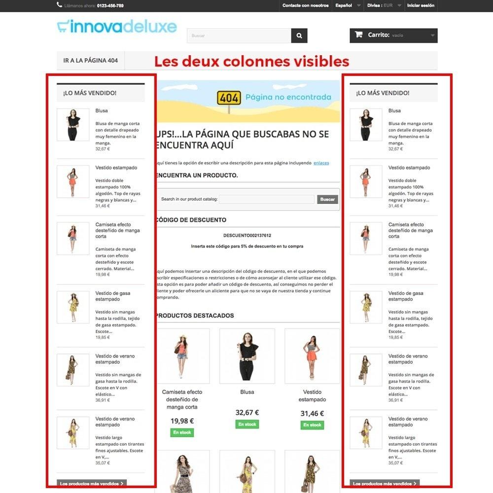 module - URL & Redirections - Personnalisation de la page d'erreur 404 - 14
