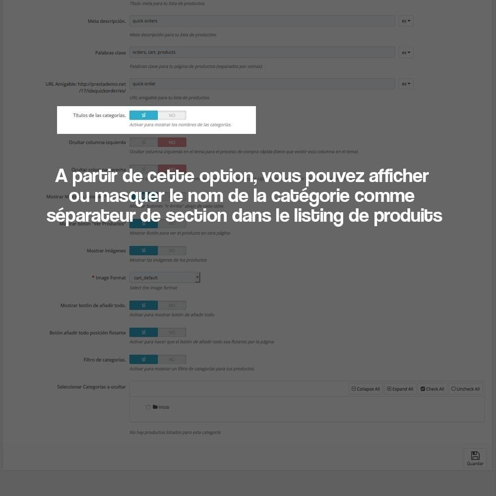 module - B2B - Créateur de commandes rapides (clients professionnels) - 5