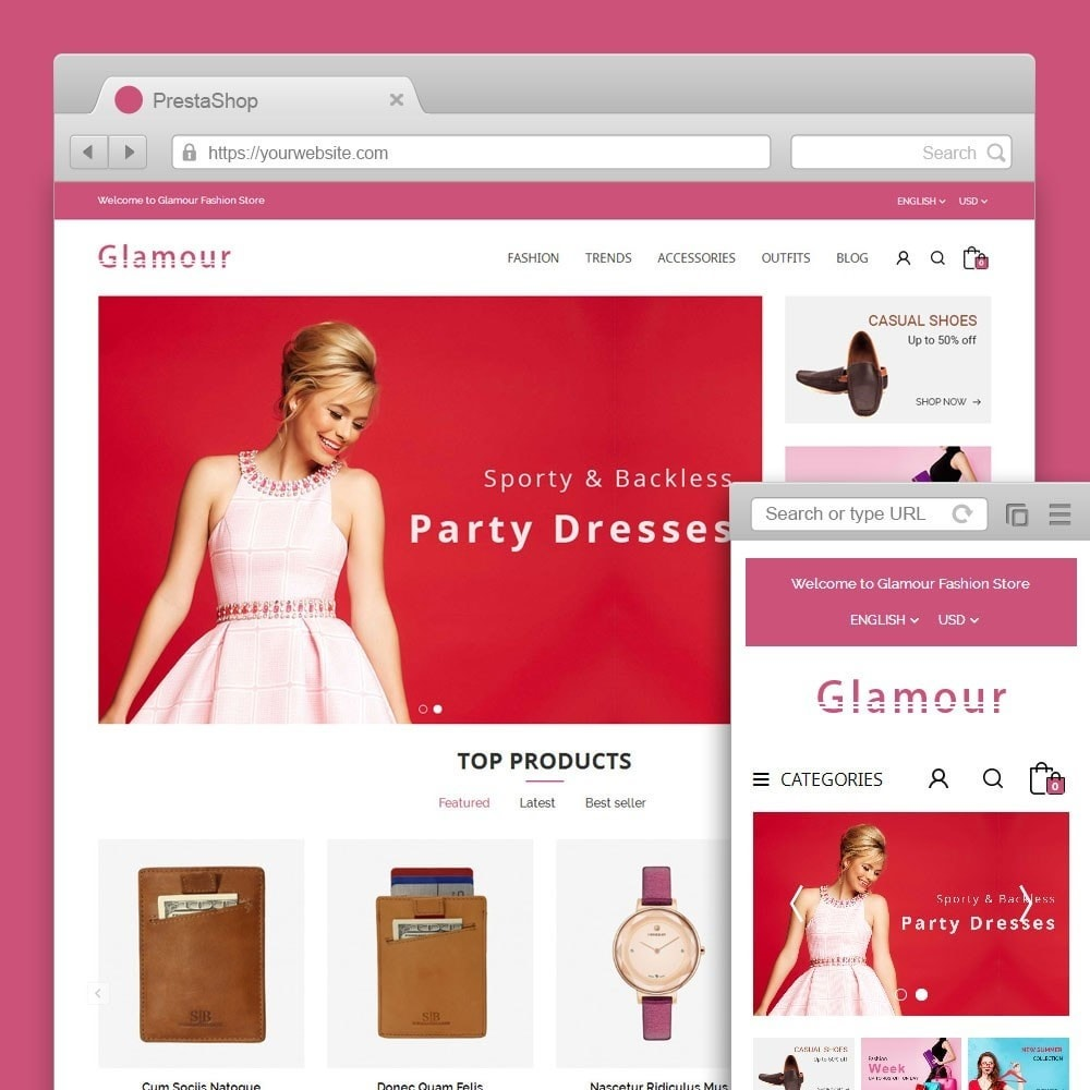 Glamour Fashion Store