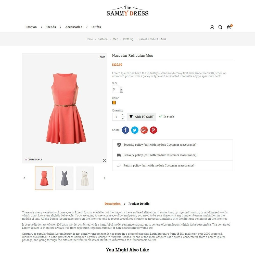 theme - Moda & Calçados - The Sammy Dress Store - 5