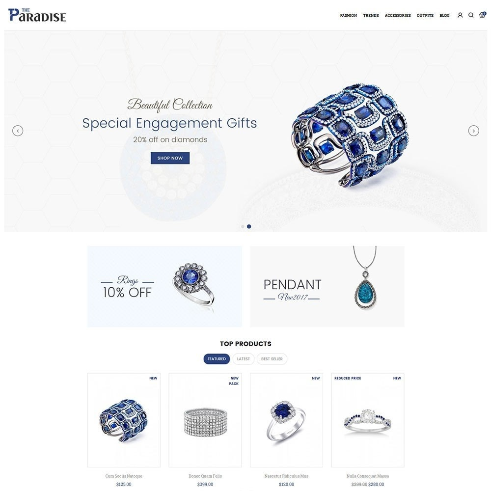 theme - Sieraden & Accessoires - Paradise Jewellery Store - 2