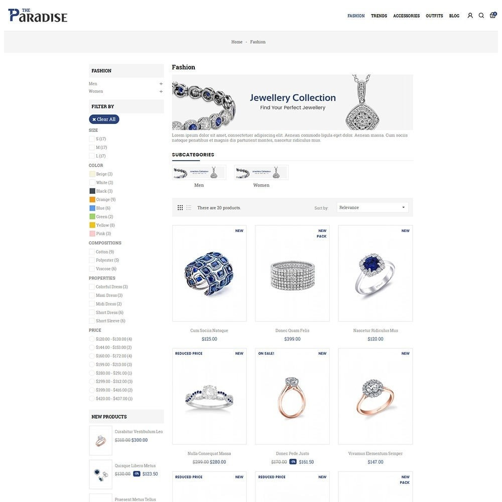 theme - Sieraden & Accessoires - Paradise Jewellery Store - 3