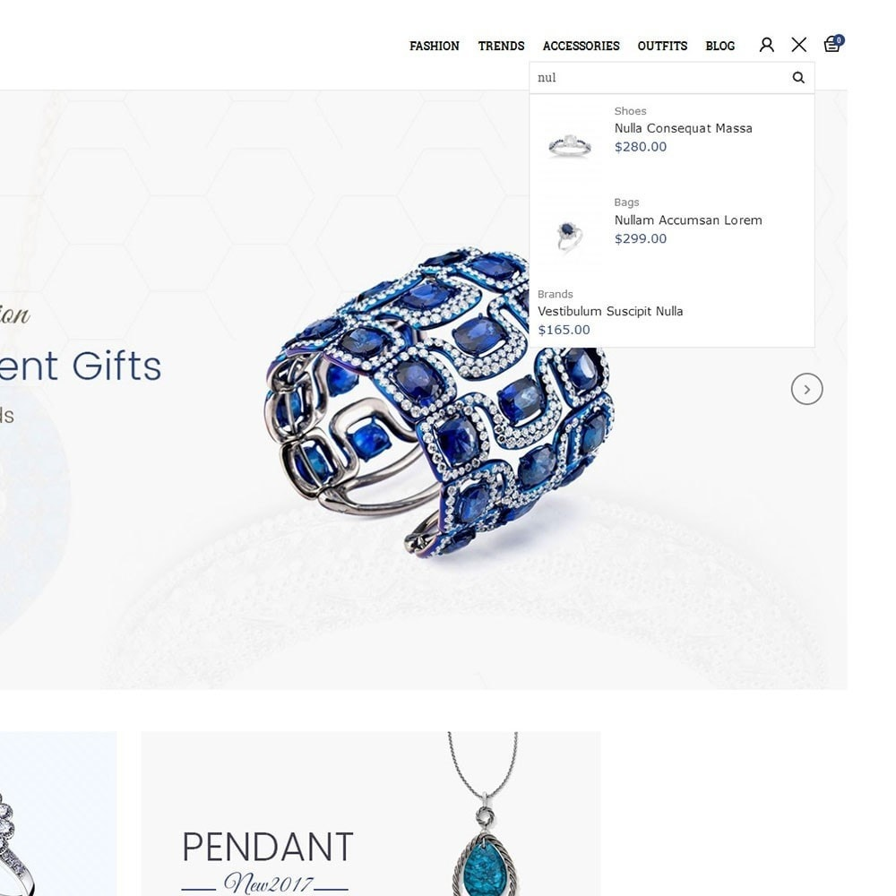 theme - Jewelry & Accessories - Paradise Jewellery Store - 6