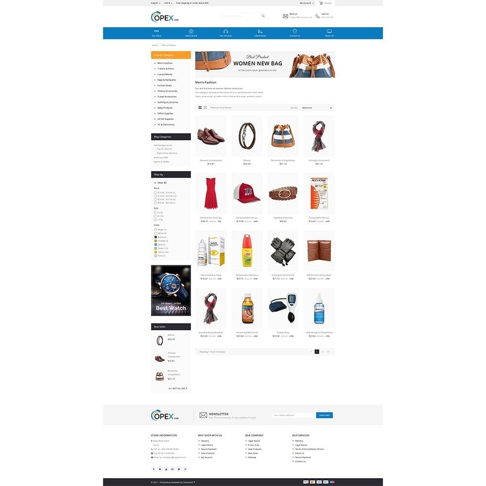 Opex Mega Store