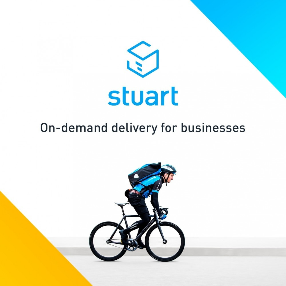 module - Перевозчики - Stuart - Delivery 7/7 by bike - 1