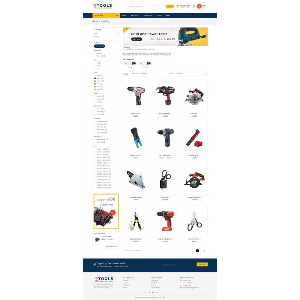 theme - Elettronica & High Tech - Mega Tools Store - 3