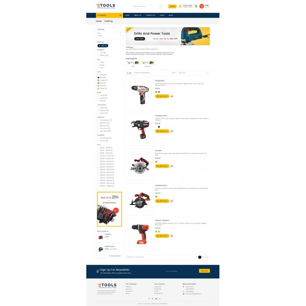 theme - Elettronica & High Tech - Mega Tools Store - 4