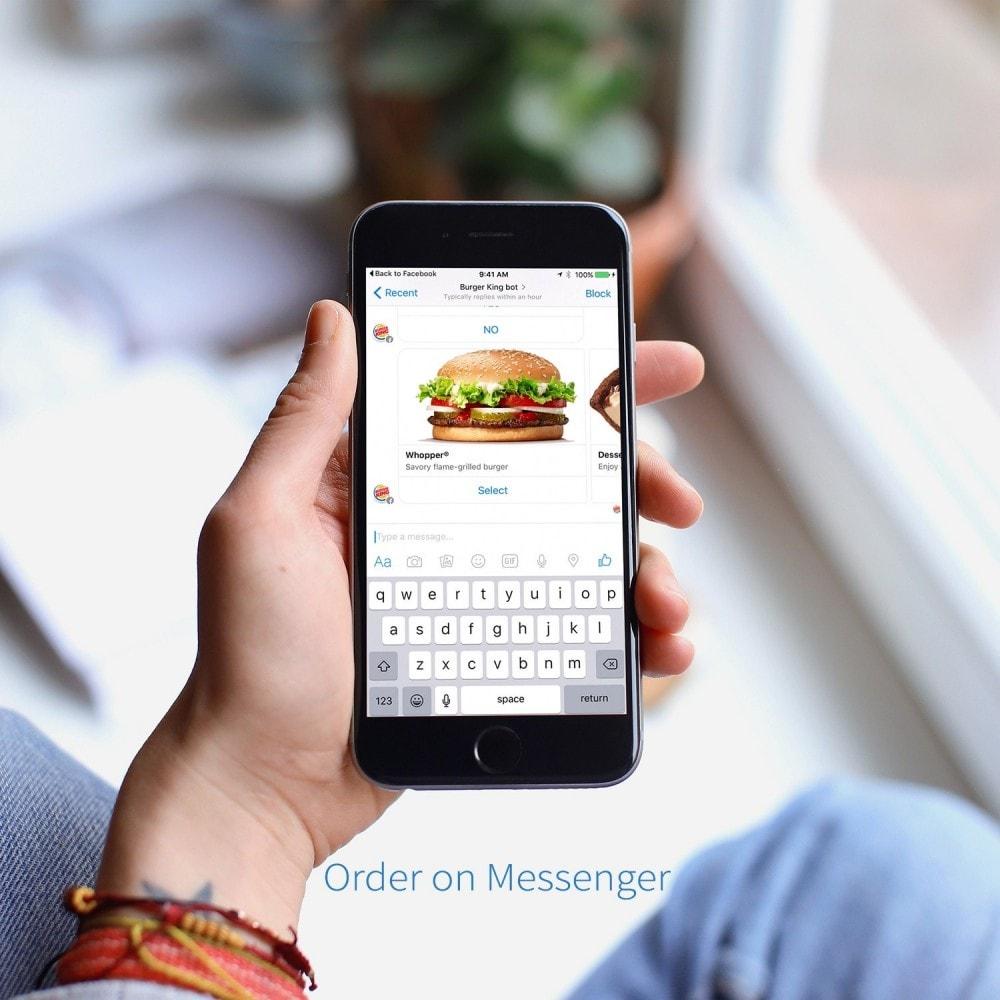 module - Order Management - Order on Messenger - 2